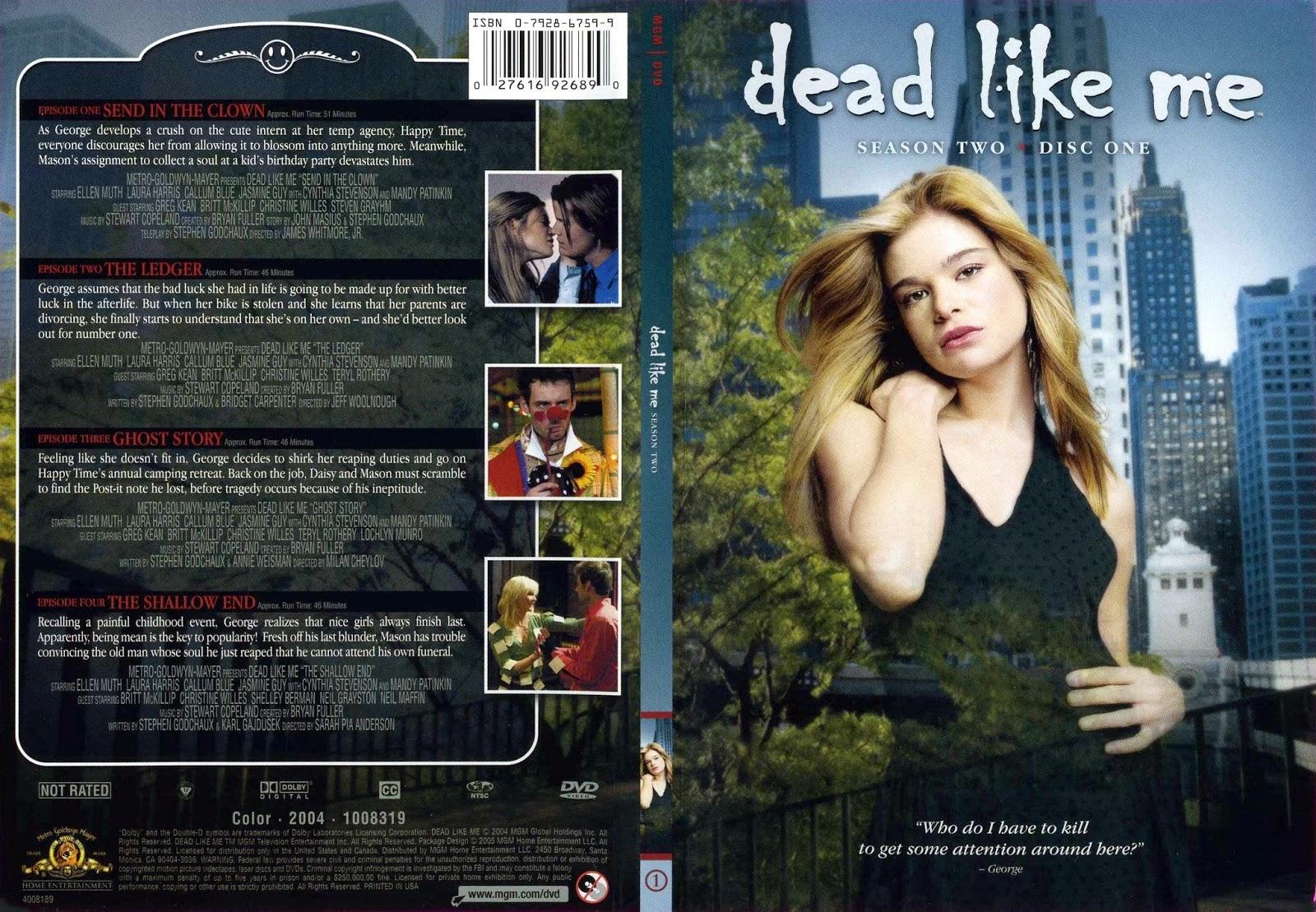 Dead Like Me - Episode Guide - TV.com